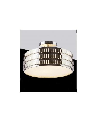 Plafonnier 3 lampes en acier