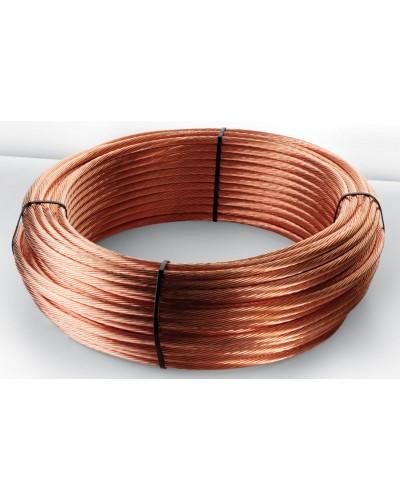 Câble nu cuivre