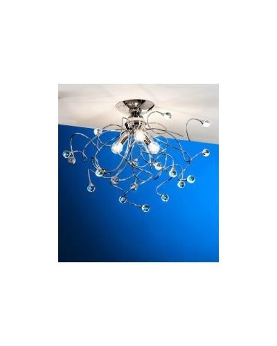 Plafonnier 3 lumières Crystal