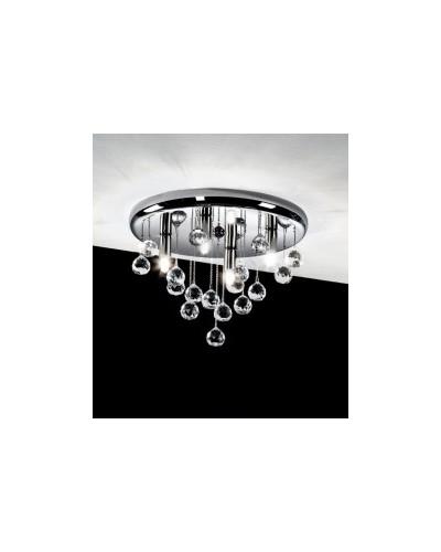 Plafonnier DM.30 en cristal.