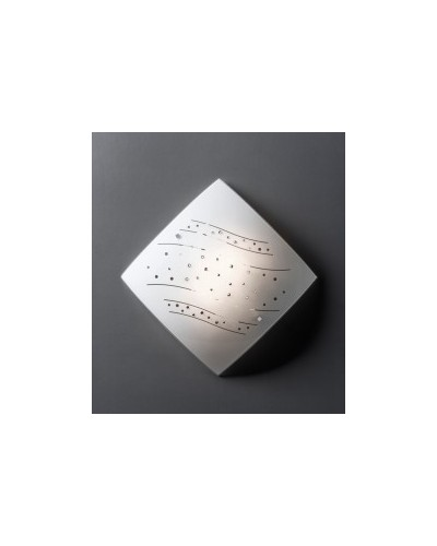 Plafonnier en cristal 40x40